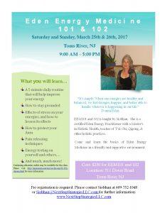 Energy Medicine Workshops w/ CEs @ Array of Light | Toms River | New Jersey | United States