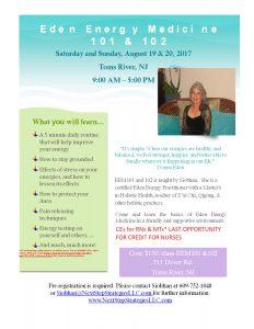 Energy Medicine Workshops @ Array of Light | Toms River | New Jersey | United States