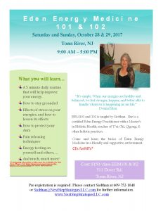 Energy Medicine Workshops @ Array of Light | Toms River | New Jersey | United States
