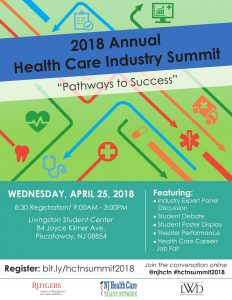 2018 Annual Health Care Industry Summit @ Rutgers Livingston Campus Student Center | Piscataway Township | New Jersey | United States