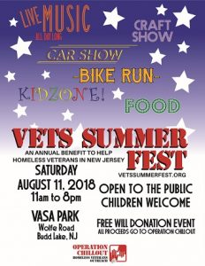Vets Summer Fest @ Vasa Park | Hackettstown | New Jersey | United States