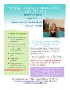 Energy Medicine Workshop @ Georgian Court University