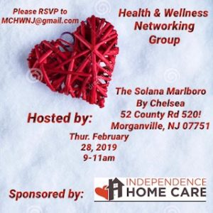 Health & Wellness Networking Group @ The Solana By Chelsea  | Englishtown | New Jersey | United States