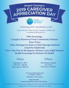 Annual Caregiver Appreciation Day @ Marquee Movie Theater