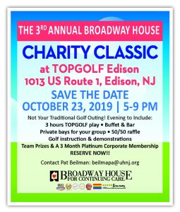 The Annual Broadway House Charity Classic at Top Golf! @ Top Golf