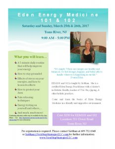 Energy Medicine Workshops w/ CEs @ Array of Light | Toms River | New Jersey | United States