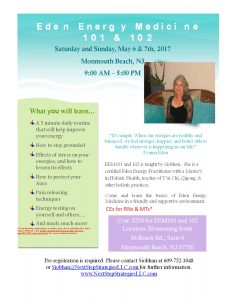 Energy Medicine Workshops w/ CEs @ Blossoming Souls | Monmouth Beach | New Jersey | United States