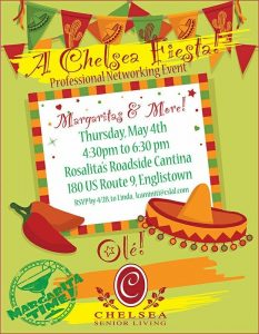 A Chelsea Fiesta!  Professional Networking Event @ Rosalita's Roadside Cantina | Englishtown | New Jersey | United States