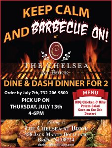 Keep Calm and BBQ On with The Chelsea at Brick @ The Chelsea at Brick | Brick | New Jersey | United States