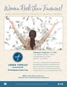 Women Rock Their Finances @ The Grand Summit Hotel | Summit | New Jersey | United States