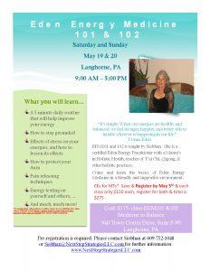 Energy Medicine 101 & 102 @ Medicine In Balance | Langhorne | Pennsylvania | United States