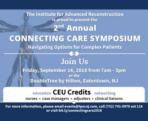 The Institute for Advanced Reconstruction - 2nd Annual Connecting Care Symposium @ Double Tree - Eatontown | Tinton Falls | New Jersey | United States