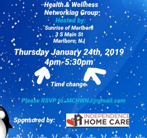 MC Health & Wellness Networking Group @ Sunrise of Marlboro  | Marlboro Township | New Jersey | United States
