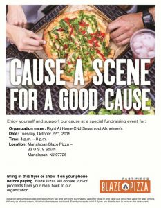 Cause a Scene for a Good Cause @ Manalapan Blaze Pizza