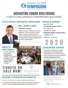 Rothkoff Law Group 3rd Annual Symposium @ The Westin Mount Laurel | Mount Laurel Township | New Jersey | United States