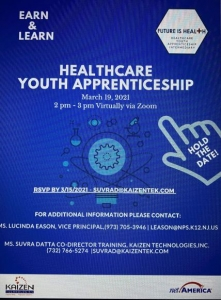 Healthcare Apprenticeships for Youth - Information Session @ Zoom meeting | Edison | New Jersey | United States
