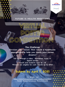 USDOL Poster Competition for Youth @ https://www.futureishealth.com/youthcompetition | Upper Marlboro | Maryland | United States
