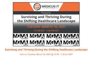 Town Hall: Surviving and Thriving During the Shifting Healthcare Landscape @ Town Hall Webinar | New Milford | New Jersey | United States