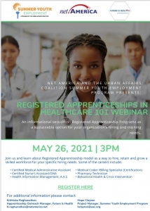 Apprenticeships in Healthcare for Youth- Information Session @ Zoom meeting | Upper Marlboro | Maryland | United States