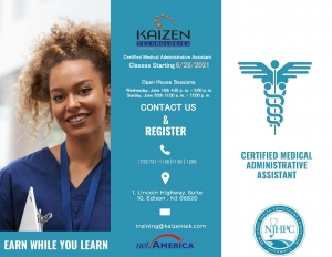Recruitment Open House - Certified Medical Administrative Assistant @ Zoom meeting | Edison | New Jersey | United States