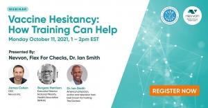 Vaccine Hesitancy: How Training Can Help @ Webinar