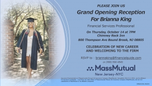Brianna King's Welcome Reception @ Chimney Rock Inn   Bound Brook   New Jersey   United States